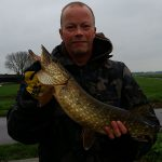 Pike fishing in the polder (07-12-2014)