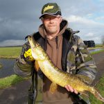 Pike fishing in the polder (31-01-2015)